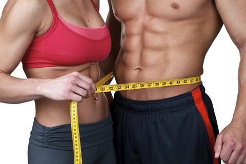 Male and Female Athletic Bodies